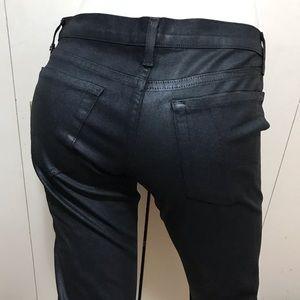 David Kahn Lana Crop Jeans Dark Blue Size 28